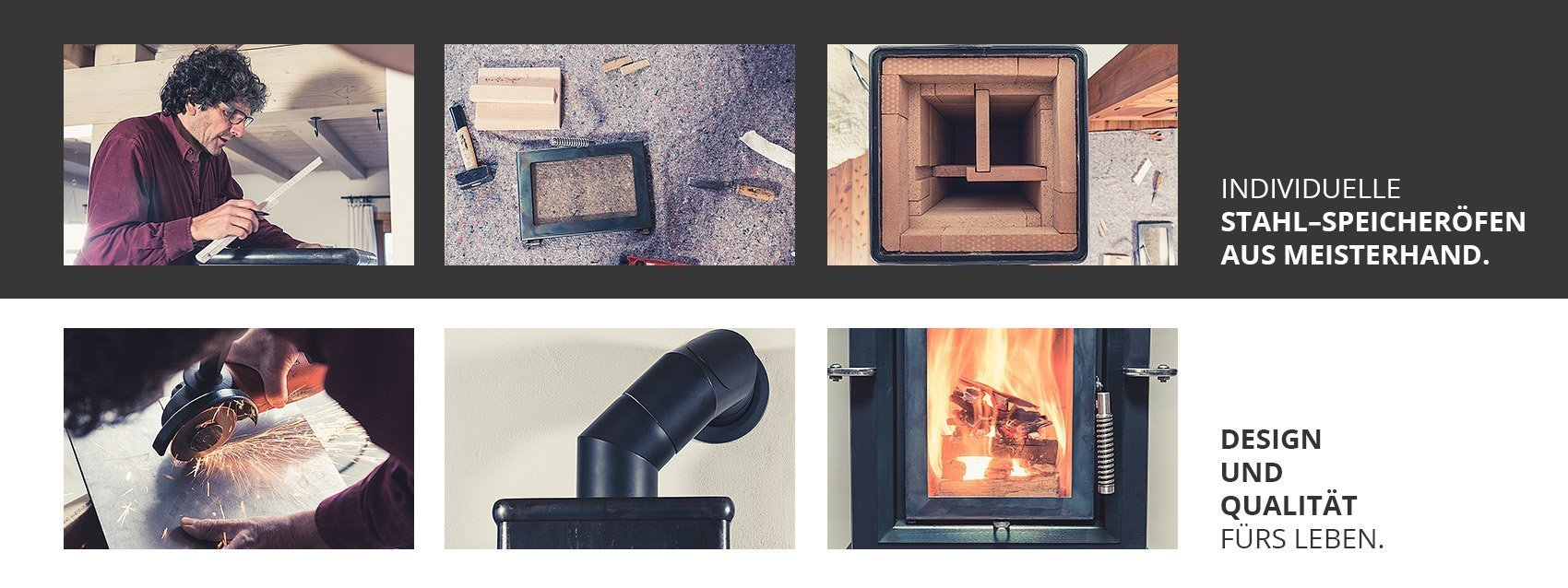 Stahlfeuer Ofenwerkstatt Titelbild – Speicheröfen Design Und Qualität fürs Leben